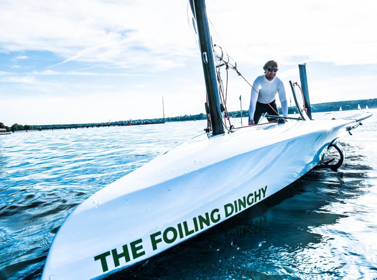 AST Foiling Dinghy Boat
